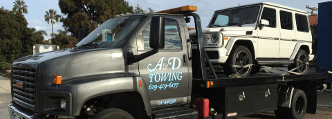 mercedes 24 hour towing san diego
