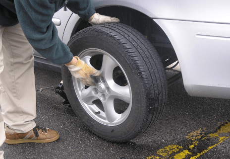 flat tire changing  san diego area ad towing