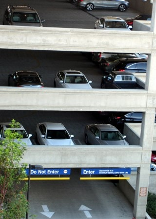 parking garage towing san diego