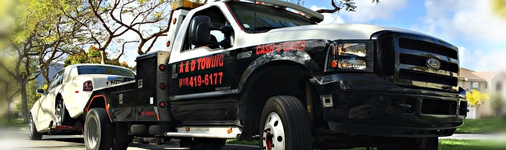 Towing San Diego – Tow Truck & Roadside Service